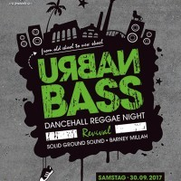 URBAN BASS<br><small>Reggae Dancehall Night Revival</small>