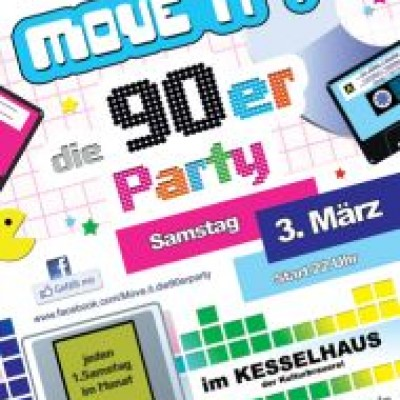 MOVE IT! Die 90er Party